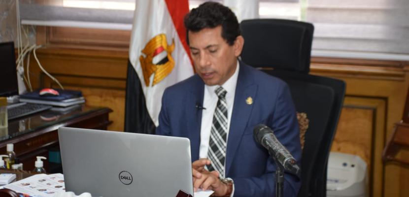 وزير الشباب والرياضة يشارك في مؤتمر أولويات الشباب العربي تحت رعاية جامعة الدول العربية