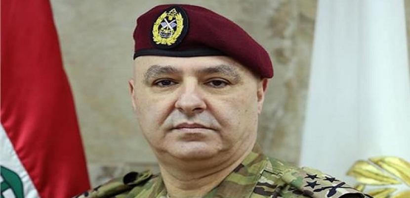 قائد الجيش اللبناني: قادرون على تنفيذ كل المهمات للتعامل مع كارثة انفجار بيروت