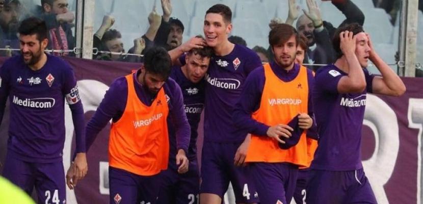 فيورنتينا يفوز على سبال 3-1 في الدوري الإيطالي