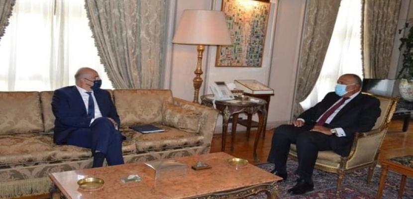 شكري: اتفاق تعيين الحدود البحرية يعكس العلاقات المتميزة بين مصر اليونان