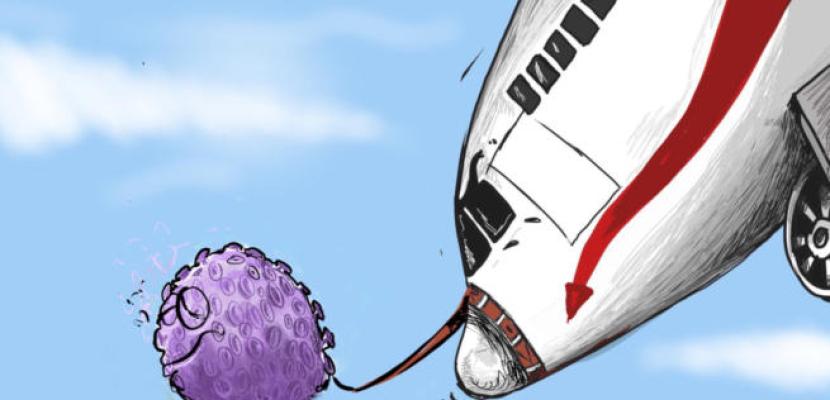 كورونا تهوى بحركة الطيران