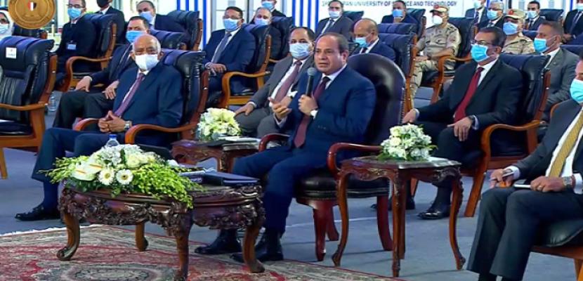 الرئيس السيسى يستجيب لرغبة طالب متفوق فى بناء مستشفى بقريته