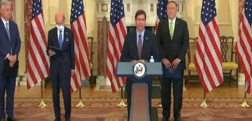 عقوبات أمريكية جديدة على إيران تشمل وزارة الدفاع