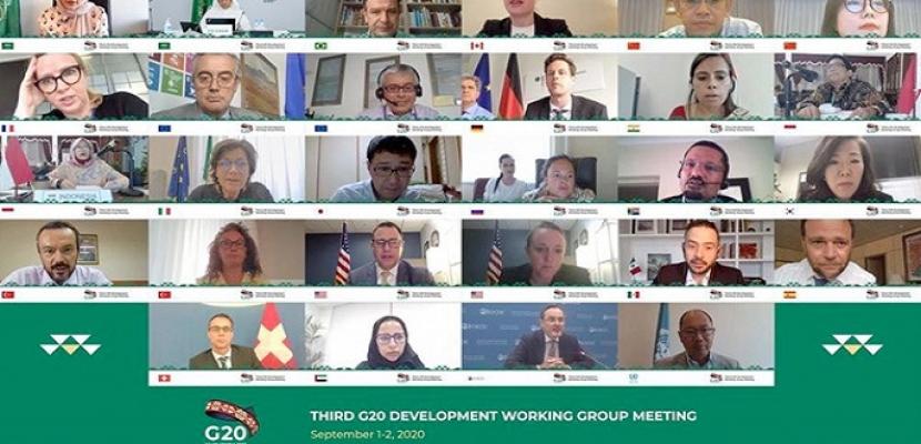 البنية التحتية وتمويل التنمية من أولويات عمل مجموعة العشرين بالسعودية