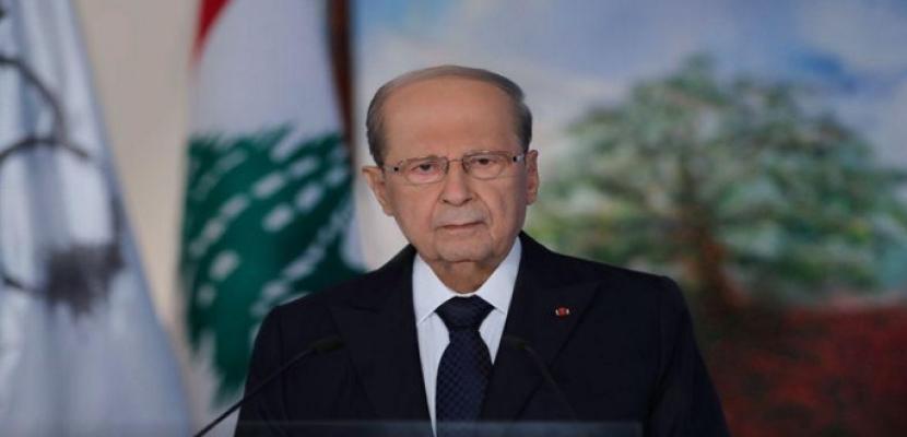 الرئيس اللبناني: تشكيل حكومة برئاسة الحريري يناقض فكرة الاختصاص لأنه رئيس حزب سياسي