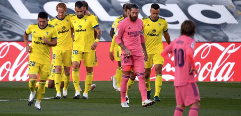 ريال مدريد يخسر أمام قادش بهدف نظيف بالليجا