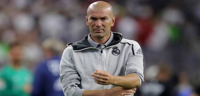 زيدان: هولاند مهاجم موهوب لكنه ليس من لاعبي ريال مدريد حاليا