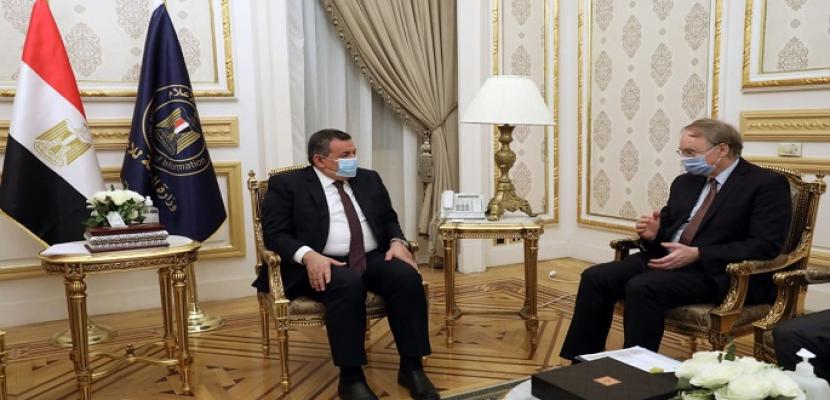 وزير الدولة للإعلام يلتقي سفير الاتحاد الأوروبي لبحث سبل التعاون