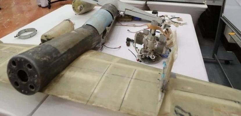 تحالف دعم الشرعية في اليمن يدمر طائرة حوثية مفخخة بدون طيار باتجاه السعودية
