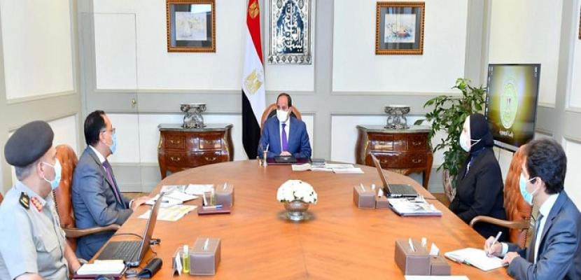 الرئيس السيسي يوجه بتقديم كافة التسهيلات الممكنة للحصول على وحدات المجمعات الصناعية الجديدة