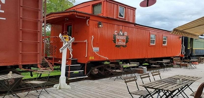 عربات قطار عمرها 109 سنوات تتحول إلى فندق فاخر فى كندا