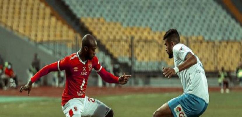 الأهلي يتأهل إلى نصف نهائي كأس مصر بالفوز على أبو قير للأسمدة 2- 1