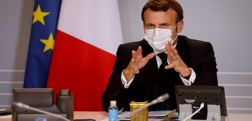 الرئيس الفرنسي: نعمل مع شركاء لإنشاء آلية تمويل دولية للبنان