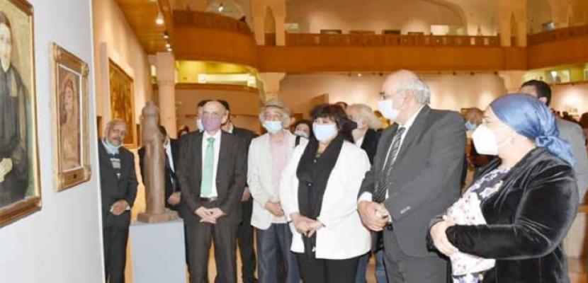 وزيرة الثقافة تعيد افتتاح متحف الفن الحديث بعد تطويره