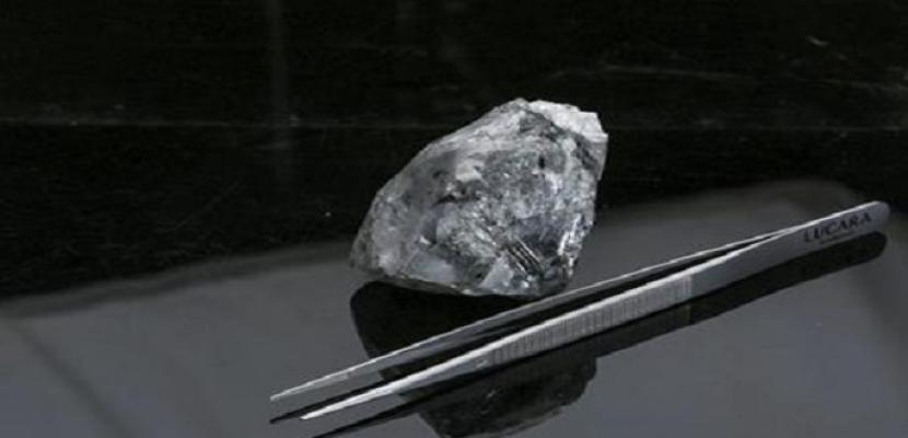 اكتشاف واحدة من أكبر الماسات في التاريخ وزنها 998 قيراطا في بوتسوانا