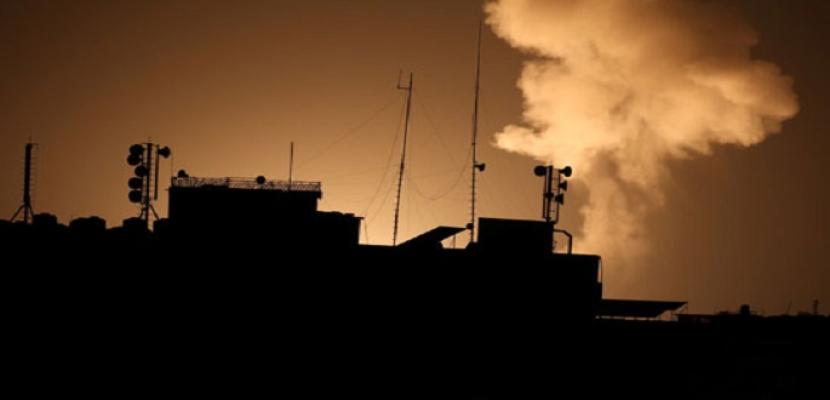 جيش الاحتلال الإسرائيلى يشن غارات جوية على قطاع غزة