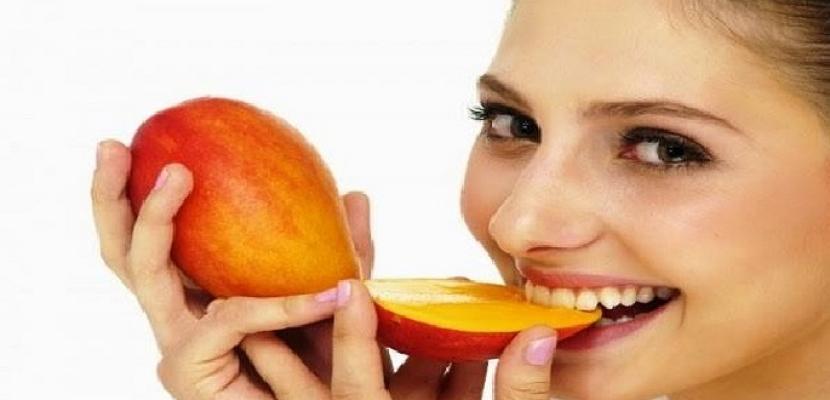 تناول المانجو يساعد على تقليل تجاعيد الوجه