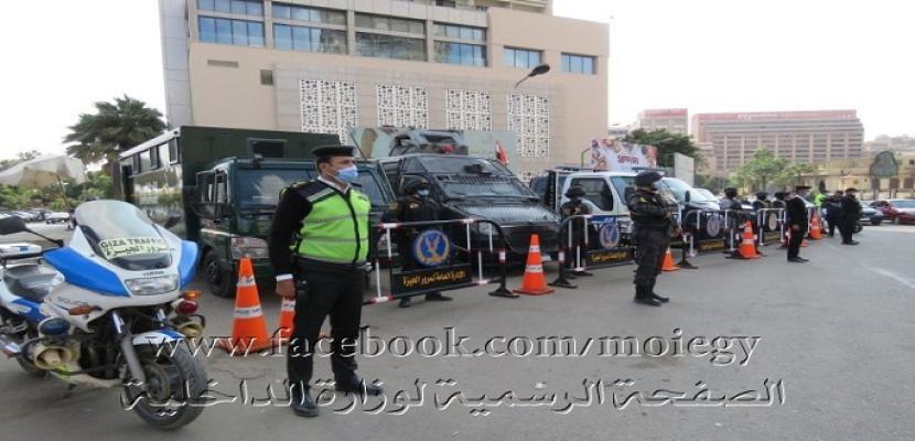 بالصور.. الداخلية تنهي استعداداتها الأمنية اللازمة لتأمين جولة الإعادة بانتخابات مجلس النواب