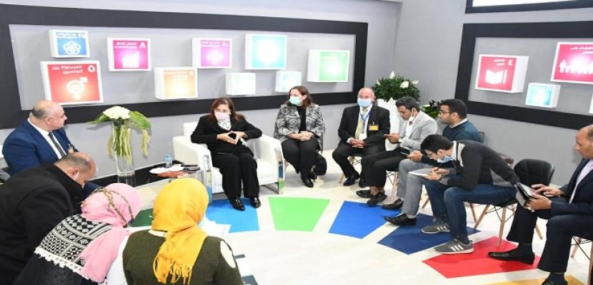 بالصور.. وزيرة التخطيط: توفير 25 مركزا تكنولوجيا متنقلا لتسهيل حصول المواطنين على الخدمات خلال 3 أشهر