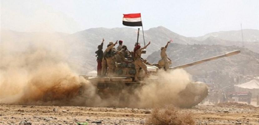 الجيش اليمني يحرر جميع مواقع تمركز الحوثيين في جبهة الجدافر بالجوف