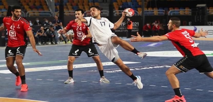 منتخب مصر يفتتح مشواره في مونديال اليد بالفوز على تشيلي 35-29