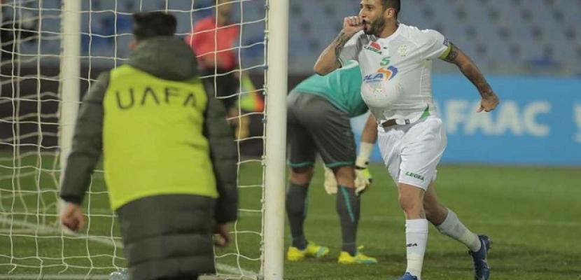الرجاء المغربي يقصي الإسماعيلي من البطولة العربية ويتأهل للنهائي