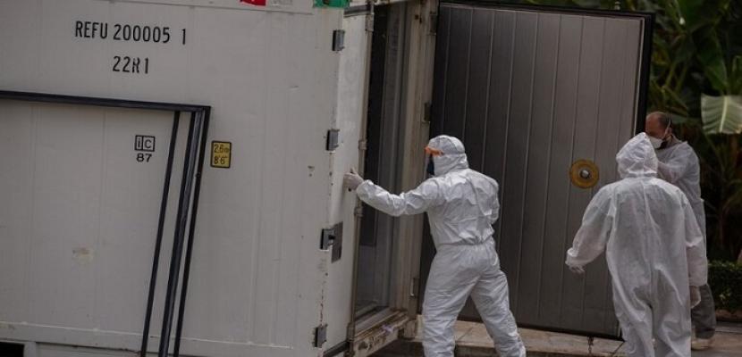 البرازيل تسجل 643 وفاة و34 ألفًا و407 حالات إصابة جديدة بكورونا في 24 ساعة