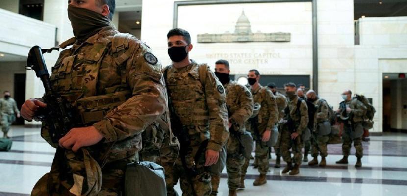 20 ألف عنصر من الحرس الوطني سيتم نشرهم في واشنطن لتأمين تنصيب بايدن رئيسا لأمريكا