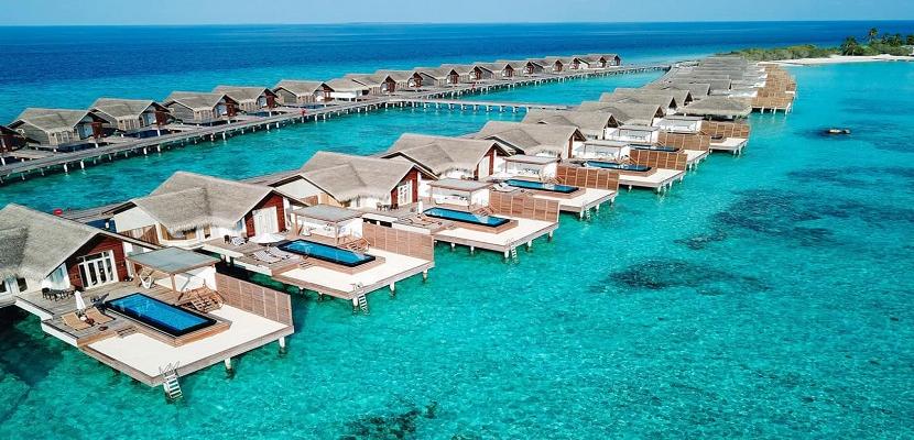 جمال الطبيعة فى جزر المالديف ..  سحر يفوق الخيال