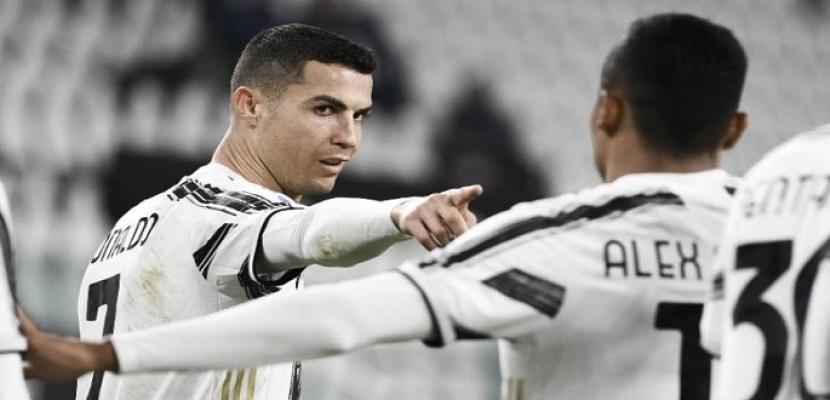 رونالدو يقود يوفنتوس للفوز على كروتوني ويواصل تحطيم الأرقام بالدوري الإيطالي