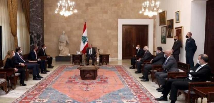 الرئيس اللبناني: الاقتصاد سيستعيد عافيته.. ولا بد من العمل ضمن الإمكانات المتاحة