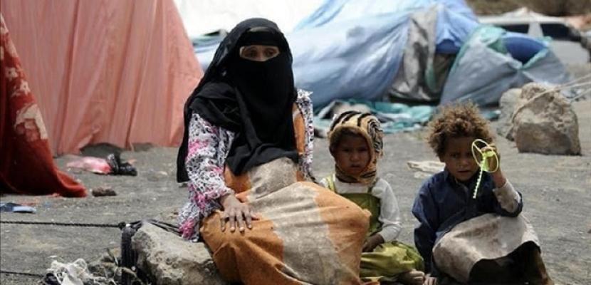 الأمم المتحدة : أكثر من 116 ألف إجمالي حالات النزوح في مأرب باليمن