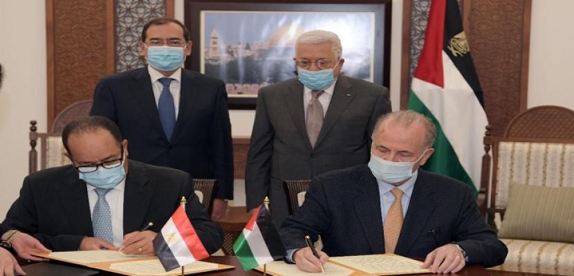 وزير البترول يبحث في فلسطين تعزيز التعاون بقطاع الطاقة
