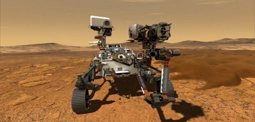 """مسبار """"بيرسفيرانس"""" لوكالة """"ناسا"""" يهبط على سطح المريخ بنجاح"""