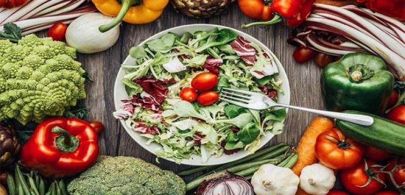 فوائد النظام الغذائى النباتى.. يحمى القلب ويمنع الإصابة بالسكر