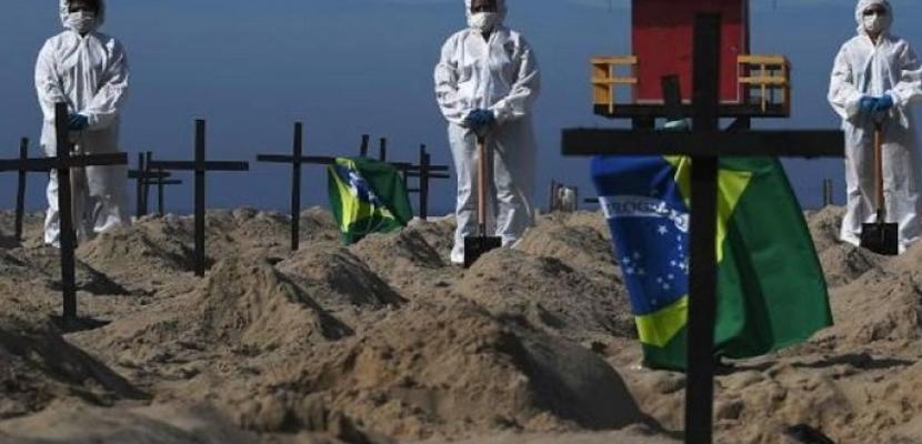 الصحة البرازيلية: 45 ألفًا و517 إصابة جديدة بكورونا