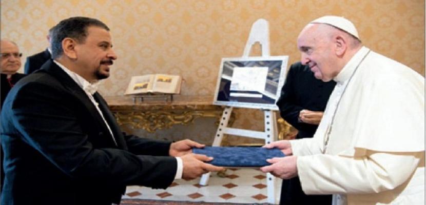 سفير العراق بالفاتيكان: زيارة البابا تزيد من التعاون الدولي مع بغداد في مختلف المستويات