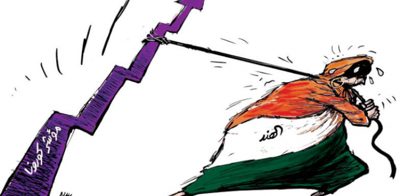 الهند تسعى لتقليل مؤشرات كورونا المتصاعدة