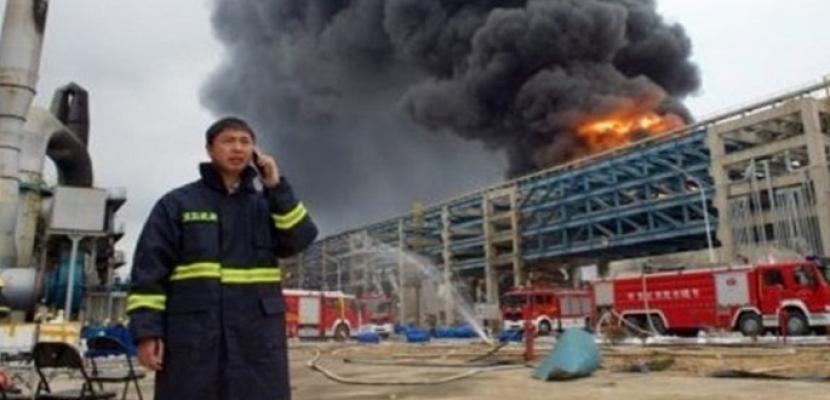 6 قتلى في انفجار بمصنع شرقي الصين