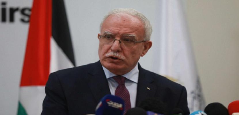 الخارجية الفلسطينية: صمت المجتمع الدولي يشجع قوات الاحتلال على التمادي في قمع الفعاليات السلمية