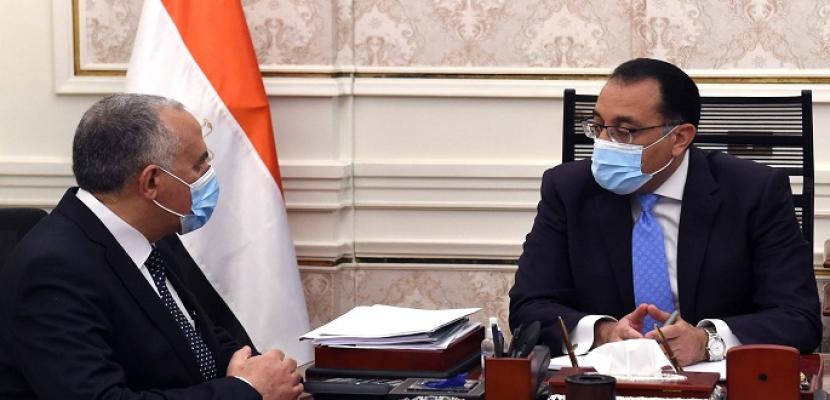 رئيس الوزراء يستعرض مع وزير الموارد المائية والري نتائج جولة مفاوضات كينشاسا
