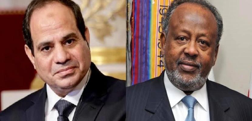 الرئيس السيسي يبحث هاتفيا مع نظيره الجيبوتي عددا من موضوعات التعاون الثنائي بين البلدين