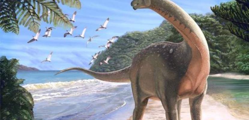 اكتشاف ديناصور عملاق في تشيلي كان يعيش من 66 مليون سنة