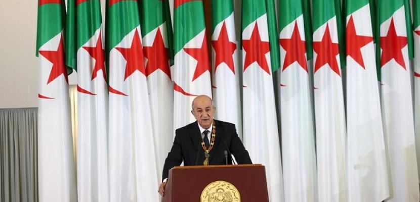 الرئيس الجزائري: المواطن هو صاحب القرار والسيادة في اختيار ممثليه في البرلمان