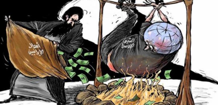 إيران تأجج نيران الصراعات في الشرق الأوسط