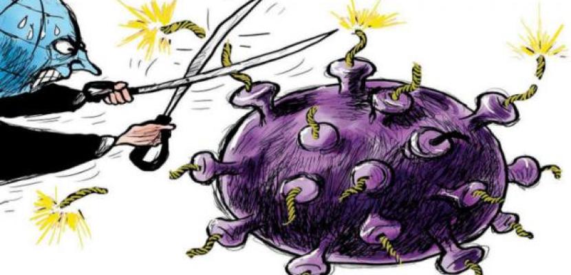 العالم يسعى جاهداً للتخلص من وباء كورونا