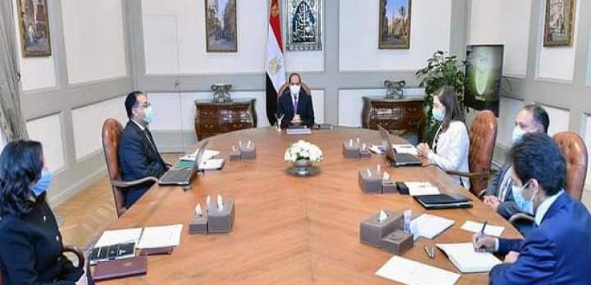 الرئيس السيسي يوجه بتوثيق كل جهود الدولة لتحقيق التنمية الشاملة