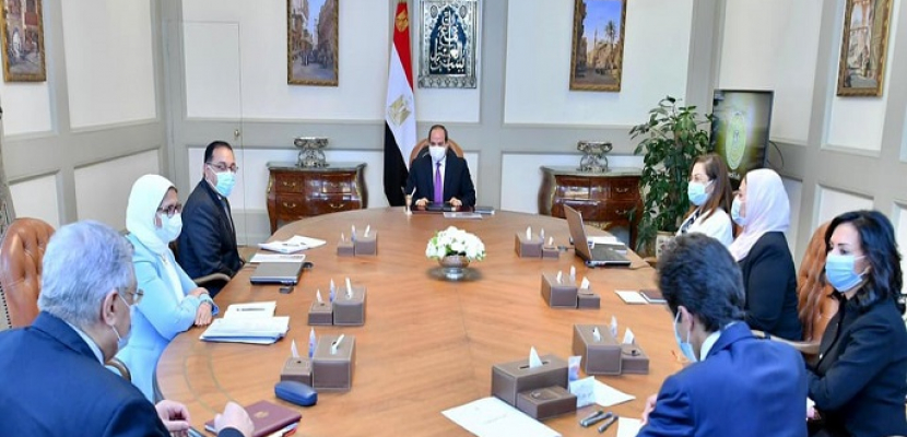الرئيس السيسي يوجه بتحقيق التوازن في المشروع القومي لتنمية الأسرة