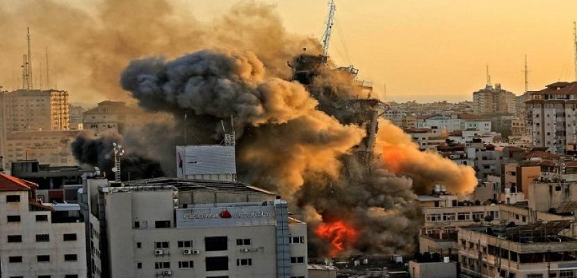 ارتفاع شهداء العدوان الإسرائيلي على غزة إلى 145 بينهم 41 طفلا و23 سيدة