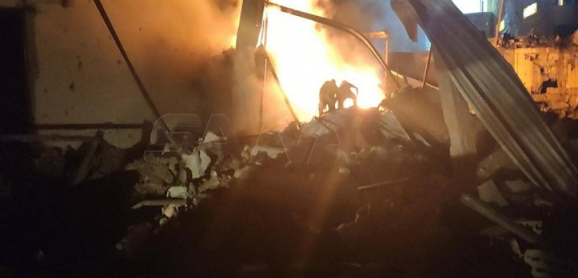 مقتل شخص وإصابة 6 آخرين في قصف إسرائيلي على سوريا